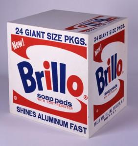 """""""Brillo Box"""" de Andy Warhol"""