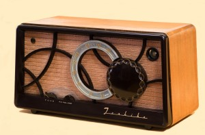 Una antigua radio