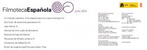 Programación de la Filmoteca Española junio 2014