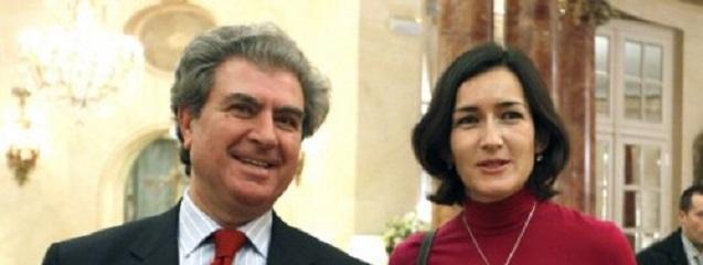 César Antonio Molina y Ángeles González Sinde