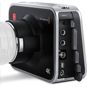 Conexiones de la production Camera 4K de Blackmagic