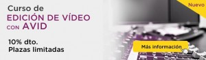 Curso de edición de vídeo con AVID en CPA Online