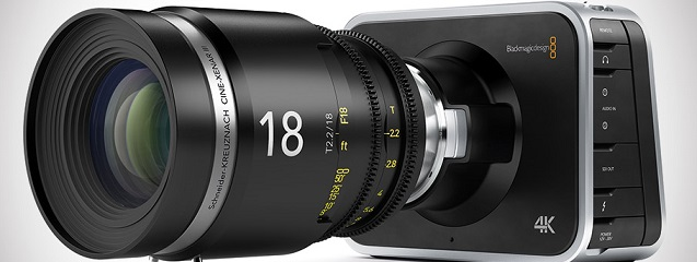 Production Camera 4K de Blackmagic Design