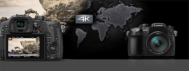 Panasonic Lumix GH4 una opción 4K