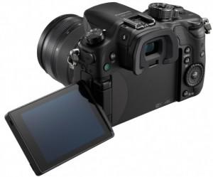 Vista trasera de la Panasonic Lumix GH4