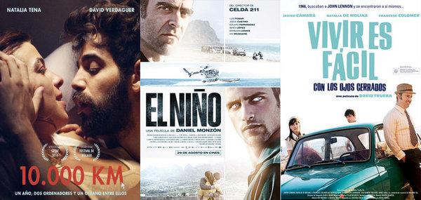 Carteles promocionales de las películas preseleccionadas