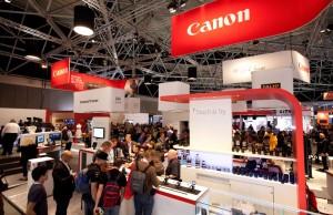 Stand de Canon en el IBC 2014