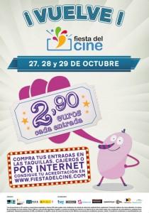 Cartel promocional de la 7ª edición de la Fiesta del Cine