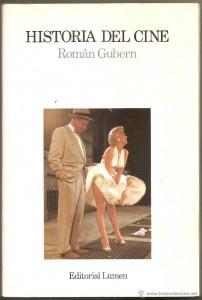 Una edición del libro Historia del Cine de Román Gubern