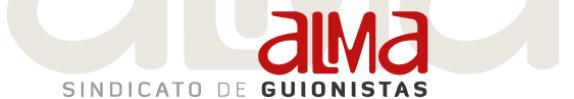 Logo del Sindicato Alma Guionistas