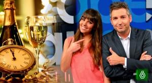 Frank Blanco y Cristina Pedroche serán los presentadores de las Campanadas de La Sexta
