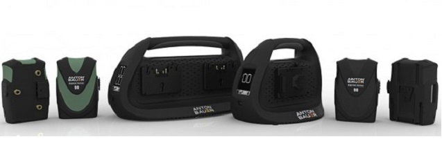 Baterías y cargadores digitales Anton Bauer
