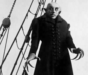 Fotograma de la película Nosferatu