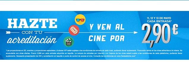 Octava edición Fiesta del Cine 2015