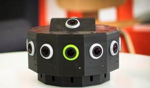 Prototipo de las cámaras estereoscópicas en 360º de Jaunt