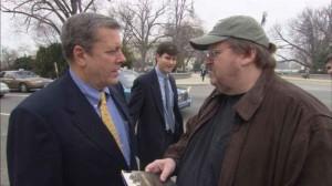 Fotograma del filme Farenheit 9 11, de Michael Moore