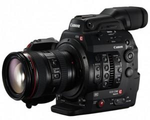 Nueva videocámara Canon EOS C300