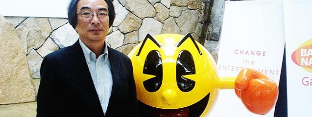 Toru Iwatani premio leyenda Gamelab 2015