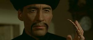 Imagen de Christopher Lee encarnando a Fu-Manchú
