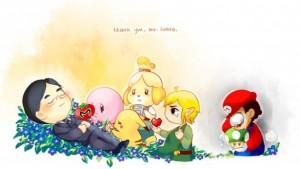Un homenaje de los muchos seguidores de Nintendo a Satoru Iwata