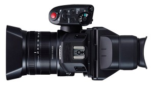 Vista cenital de la nueva Canon XC10