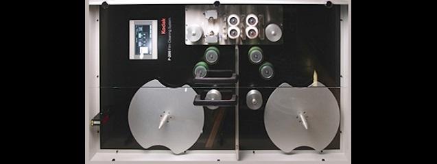 Sistema de limpieza de celuloide P-200 de Kodak