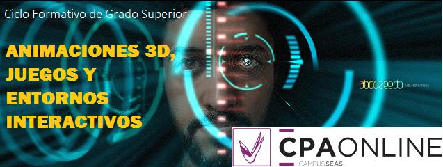CFGS Animaciones 3D Juegos y Entornos Interactivos