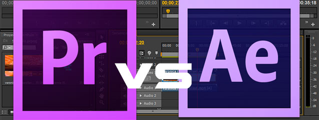 Premiere versus After Effects