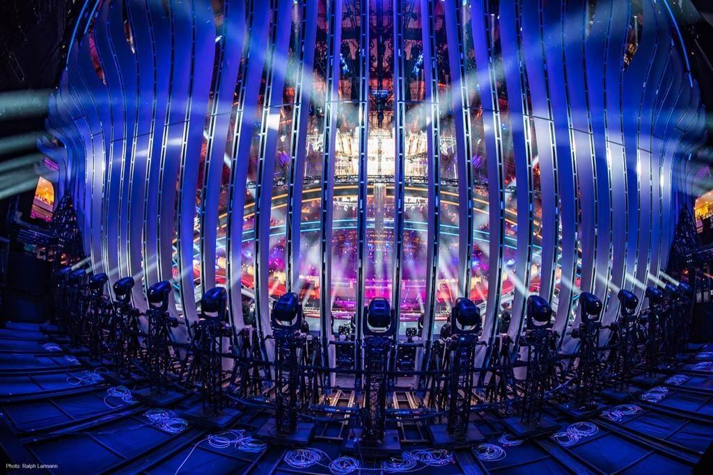 Luminarias en Eurovisión 2018