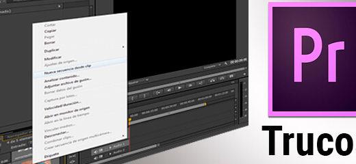 Consejos para editar más rápido en Adobe Premiere