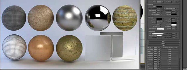 Clases de materiales en 3D Studio Max