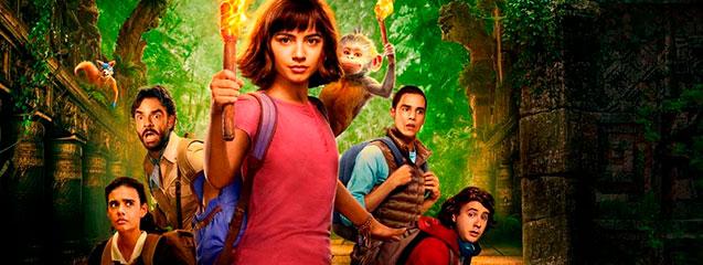 efectos especiales en Dora y la Ciudad Perdida