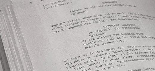 errores de guion