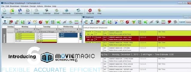 Movie Magic Scheduling 6