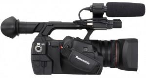Visión lateral de la nueva Panasonic AJ-PX270