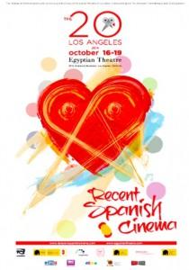 Cartel promocional de la Recent Spanish Cinema 2014