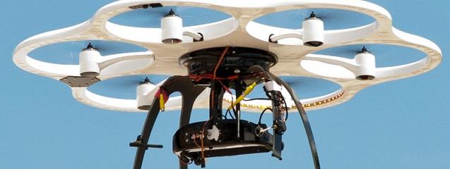 Un dron con cámara
