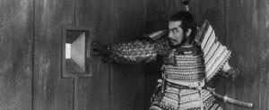 Imagen del film trono de Sangre, de Akira Kurosawa