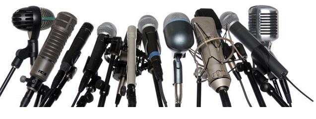 Características de los micrófonos