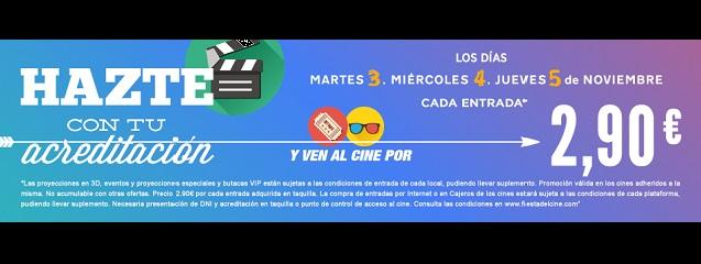 Fiesta del Cine noviembre 2015