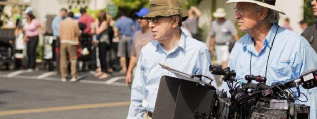 Woody Allen ya rueda en digital