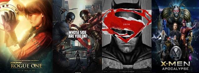 Los estrenos más esperados de 2016