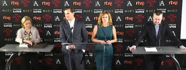 Nominados Premios Goya 2016
