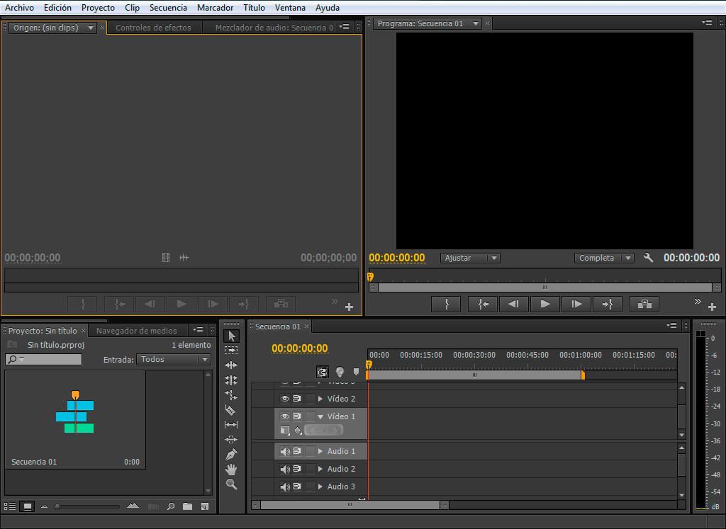 Primeros pasos con Adobe Premiere