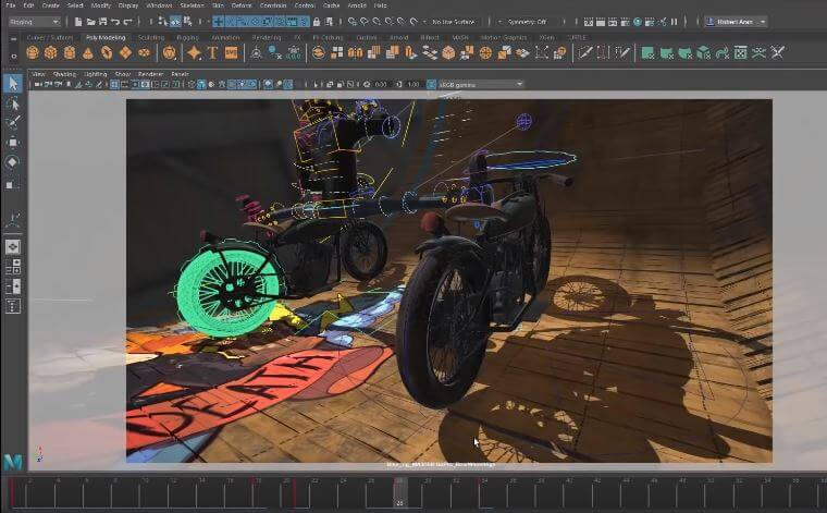 Autodesk Maya 2019, novedades