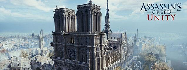 Assassin's Creed Unity recauda fondos para la recuperación de Notre-Dame