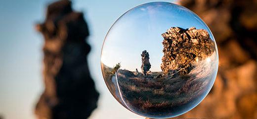 fotografía con refracción