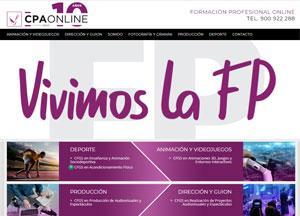 Nueva web CPA Online de formación oficial