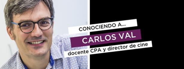Carlos Val, docente en CPA