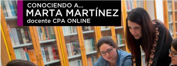 Conociendo a Marta Martínez